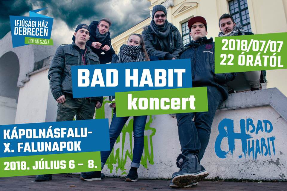 Bad Habbit Kapolnasfalu 2018